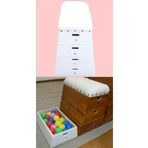 跳び箱収納BOX4段おもちゃ箱/子供部屋収納/インテリア/プレゼント/とびばこ|liberty