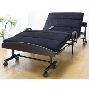 電動ベッド 宮付モコモコ電動折りたたみベッド/もこもこベッド 介護ベッドとしても|liberty