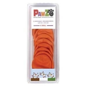 Pawz ポウズ ラバードッグブーツ オレンジ XS PZXS libret