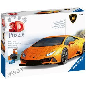 Ravensburger ラベンスバーガー 3Dパズル ランボルギーニ・ウラカンEVO 108ピース 112388|libret