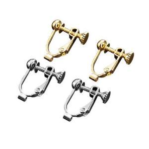 コモライフ ピアスがイヤリングになる金具 2色組|libret
