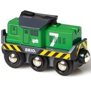 BRIO ブリオ レールウェイ バッテリーパワー貨物輸送エンジン 33214|libret