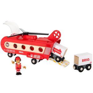 BRIO ブリオ BRIO WORLD カーゴヘリコプター 33886 木のおもちゃ|libret