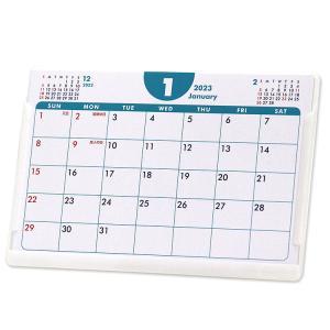 2019年ポストカードサイズ卓上カレンダー(ポップカラー)12冊から名入れ無料 壁掛けも可|librorianet