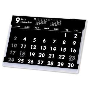 2019年9月始まりポストカードサイズ卓上カレンダー(ブラック&ホワイト) librorianet