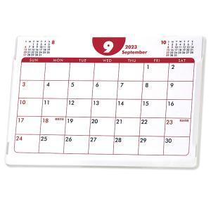 2018年9月始まりポストカードサイズ卓上カレンダー(ポップカラー)
