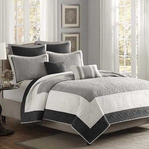 MADISON PARK(マディソンパーク) /ベットリネン7点セット* Liverpool 7-Piece Coverlet Set 17603981