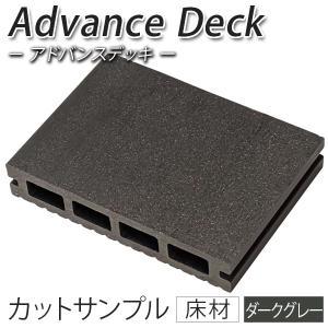 ウッドデッキ 人工木材 サンプル アドバンスデッキ 25×140×100mm ダークグレー 床材 面材 人工木材 樹脂デッキ (お一人様一点限り) liebe