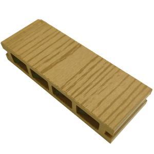 ウッドデッキ 人工木材 サンプル オーロラデッキ 25×140×50mm チーク 床板 板材 人工木 樹脂デッキ (お一人様一点限り) liebe
