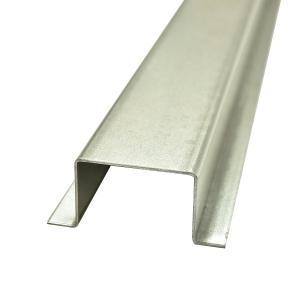 ウッドデッキ ルチアウッド 人工木材 DIY 材料 ハット型鋼材 40×60(90)×3000mm (6kg) 大引・根太用 樹脂デッキ|liebe