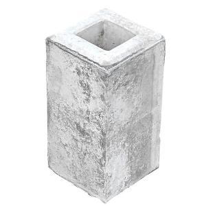フェンスブロック(小) 70角用 (12.0kg) フェンス用 コンクリート|liebe