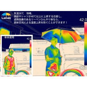 日傘 メンズ レディース 晴雨兼用 長傘 ジャンプ傘 UVカット 遮光 遮熱 ひんやり傘 男性用 LIEBEN-0102|lieben2000|08