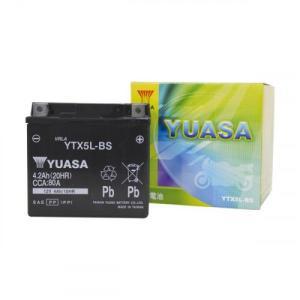 台湾ユアサバッテリー YTX5L-BS 電解液注...の商品画像