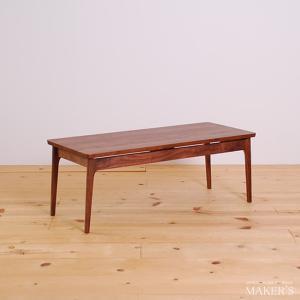 Pike パイク 無垢 リビングテーブル センターテーブル ウォールナット 送料無料|liet-life