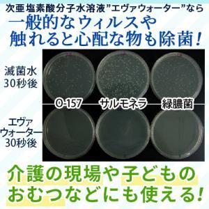次亜塩素酸水 スプレータイプ エヴァ水 400ml 空気を洗う 空間除菌 消臭|life-direct|02