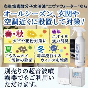 次亜塩素酸水 スプレータイプ エヴァ水 400ml 空気を洗う 空間除菌 消臭|life-direct|06