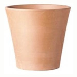 植込み易いシンプルデザインのイタリア製切立形状のテラコッタポットです。長く使えば使うほど風合いに味が...