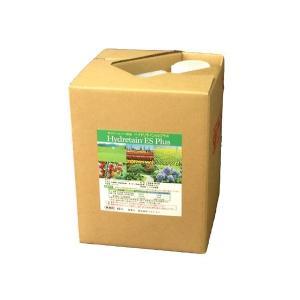 水やりヘルパー原液 ハイドリテインESプラス 10L 業務用 植物用土壌保水剤 保湿材|life-eco