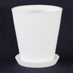 まるで陶器のようなテクスチャーを持ち、肉厚のあるセラアートはプラスチック鉢とは思えないぬくもりとお洒...