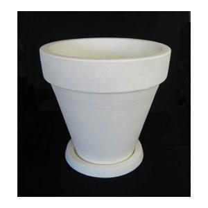 デザインが美しいイタリア樹脂ポット。モダンスタイルの空間に溶け込むシンプルで清潔感のあるポットです。