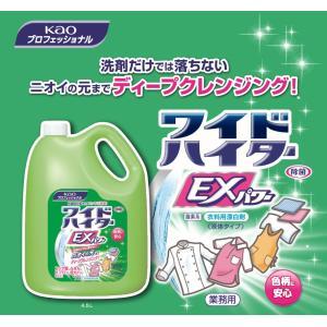値下げ ワイドハイターEXパワー4.5L 花王業務用 洗剤 消臭 部屋干し