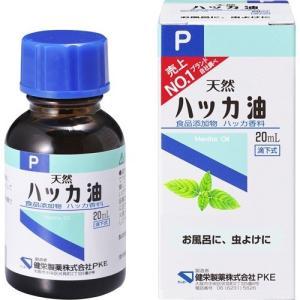 【健栄製薬 ハッカ油P 20mL】[代引選択不可]