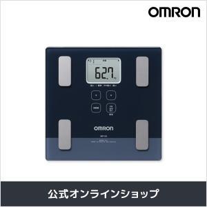 オムロン 公式 体重体組成計 体重計 ダークブルー HBF-224-DB カラダスキャン 期間限定 送料無料|life-rhythm
