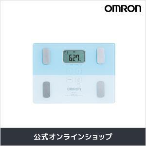 オムロン 公式 体重体組成計 体重計 デジタル 体脂肪率 ブルー HBF-225-B 期間限定 送料無料|life-rhythm