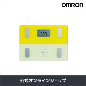 オムロン 公式 体重体組成計 体重計 デジタル 体脂肪率 イエロー HBF-225-Y 期間限定 送料無料|life-rhythm