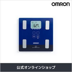 オムロン 公式 体重体組成計 体重計 デジタル 体脂肪率 ダークブルー HBF-226-DB 送料無料|life-rhythm