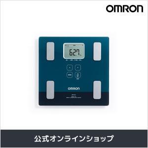 オムロン 公式 体重体組成計 体重計 デジタル 体脂肪率 グリーンー HBF-226-G 送料無料|life-rhythm