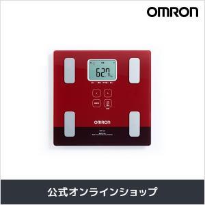 オムロン 公式 体重体組成計 体重計 デジタル 体脂肪率 レッド HBF-226-R 送料無料|life-rhythm