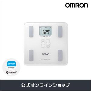 オムロン 公式 体重体組成計 体重計 デジタル 体脂肪率 HBF-227T-SW シャイニーホワイト 送料無料|life-rhythm