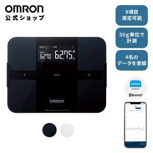 オムロン 公式 体重体組成計 体重計 ブラック HBF-25...
