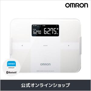 オムロン 公式 体重体組成計 体重計 ホワイト HBF-25...