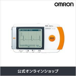 オムロン 公式 携帯型心電計 HCG-801 ポータブル 送料無料|Rhythm by OMRON