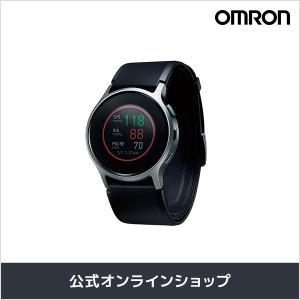 オムロン 公式 血圧計 ウェアラブル血圧計 HeartGuide HCR-6900T-M 活動量計 ...