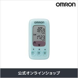 オムロン 公式 活動量計 カロリスキャン ミント HJA-310-B ダイエットに!|life-rhythm