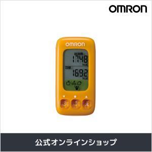 オムロン 公式 活動量計 カロリスキャン オレンジ HJA-314-YR ダイエットに! 週末限定 ...