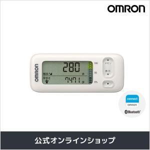 オムロン 公式 活動量計 ホワイト HJA-405T-W 送料無料の画像