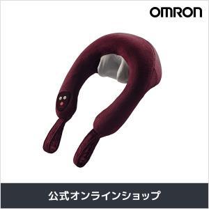 オムロン 公式 ネックマッサージャ マッサージ 肩こり マッサージャー ワインレッド HM-142-WR 送料無料|life-rhythm