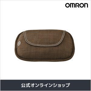 オムロン 公式 クッションマッサージャ ブラウン HM-343-BW さらさら生地カバー 送料無料|life-rhythm