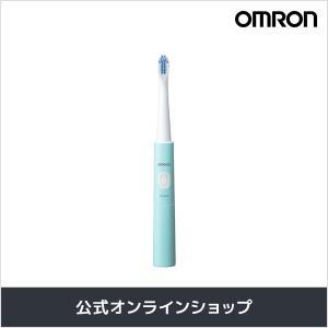 オムロン 公式 音波式電動歯ブラシ グリーン HT-B210-G 乾電池式|life-rhythm