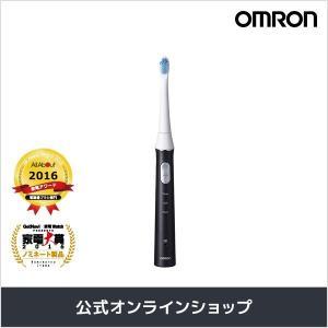 オムロン 公式 音波式電動歯ブラシ ブラック HT-B314...