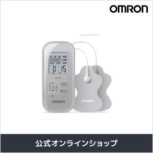 オムロン 公式 低周波治療器 シルバー HV-F021-SL 送料無料|Rhythm by OMRON