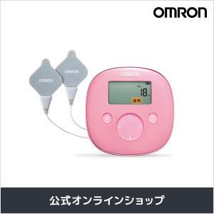 オムロン 公式 温熱低周波治療器 ピンク HV-F320-PK 送料無料|life-rhythm