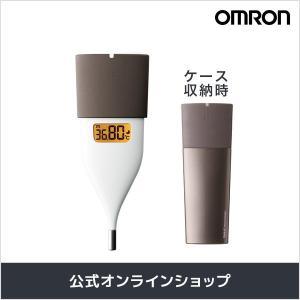 忙しい朝もすばやく検温、平均10秒の予測検温 OMRONの「婦人用電子体温計(MC-652LC-BW...