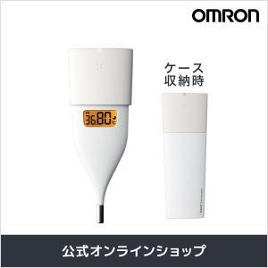 忙しい朝もすばやく検温、平均10秒の予測検温 OMRONの「婦人用電子体温計(MC-652LC-W)...