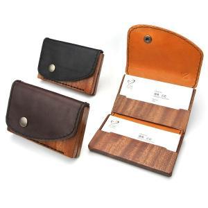 card case13 木と革の名刺入れ|life-store
