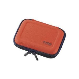 エレコム ポータブルHDDケース(セミハード) HDC-SH001DR